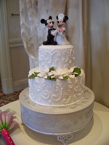 Disney Wedding Cakes  Disney Wedding Cakes