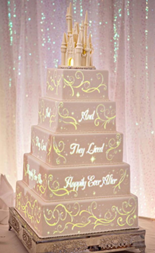 Disney Wedding Cakes  These Disney fairytale wedding cakes e with their own