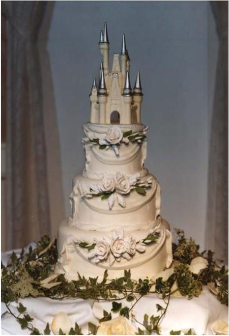 Disney Wedding Cakes  Wedding Cakes Cinderella Castle Wedding Cake