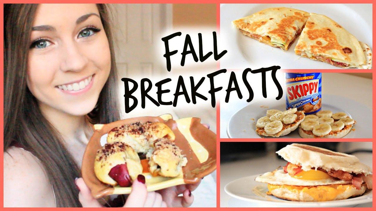 Diy Healthy Breakfast  Easy DIY Fall Breakfast Ideas