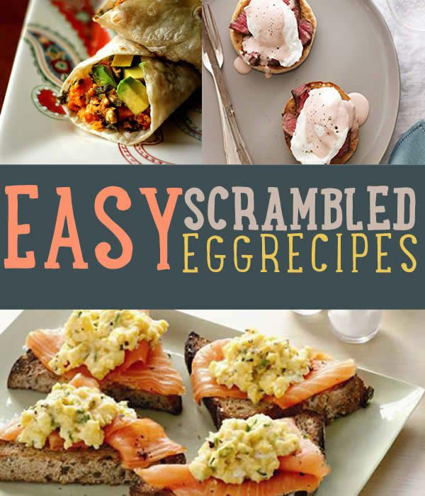 Diy Healthy Breakfast  Easy Egg Recipes DIY Projects Craft Ideas & How To's for
