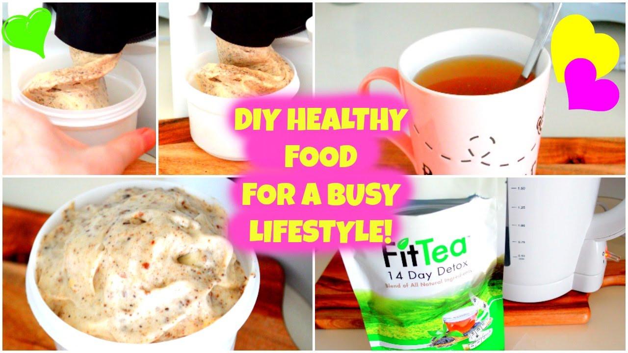 Diy Healthy Breakfast  QUICK & EASY DIY HEALTHY FOOD IDEAS
