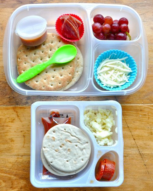 Diy Healthy Breakfast  These Pizza Lunchables are healthy and made with fresh