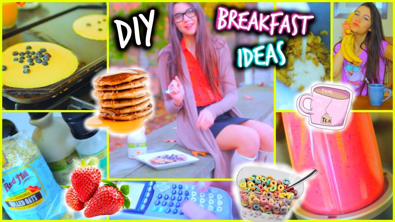Diy Healthy Breakfast  Breakfast Ideas DIY Healthy Quick Easy and Fast for