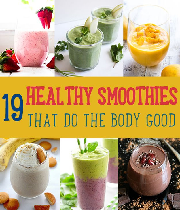 Diy Healthy Smoothies  Healthy Smoothie Recipes DIY Projects Craft Ideas & How To