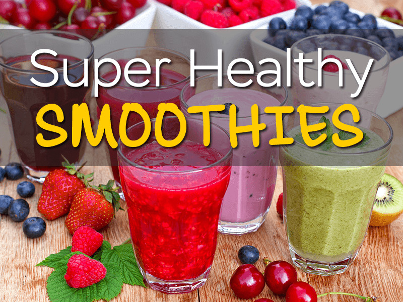 Diy Healthy Smoothies  Homemade Smoothie Recipes •