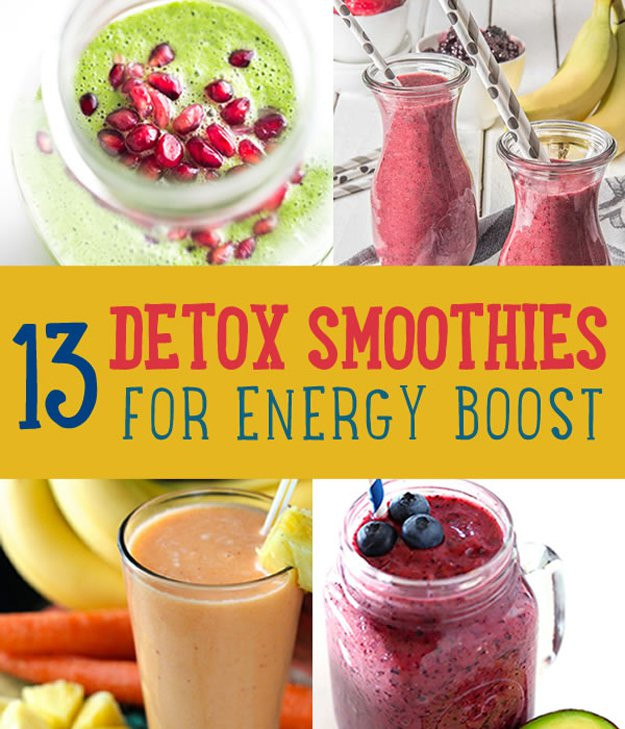 Diy Healthy Smoothies  Detoxifying Energy Boosting Smoothies DIY Projects Craft