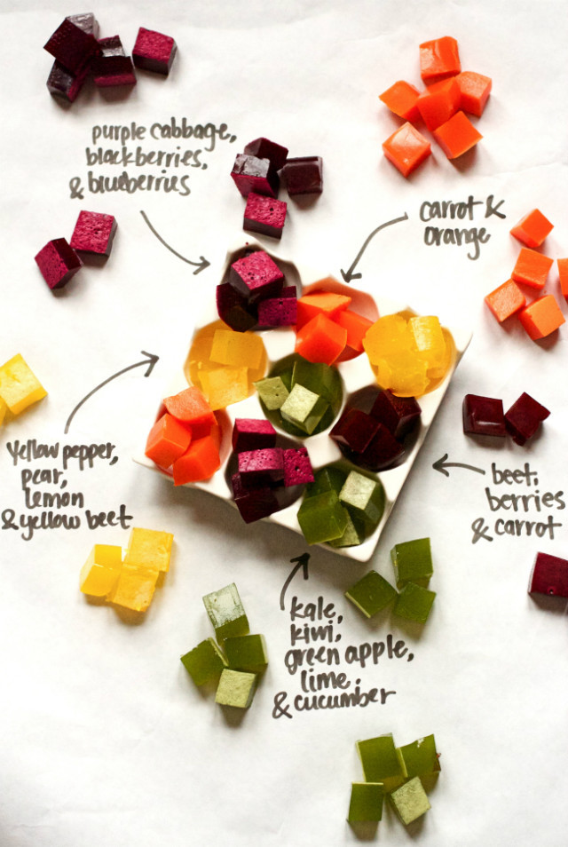 Diy Healthy Snacks  Healthy Vitamin Recipe Homemade Fruit and Veggie Gummies