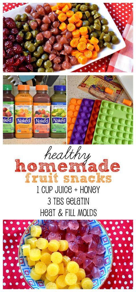 Diy Healthy Snacks  Easy fun & healthy DIY fruit snacks using only 3