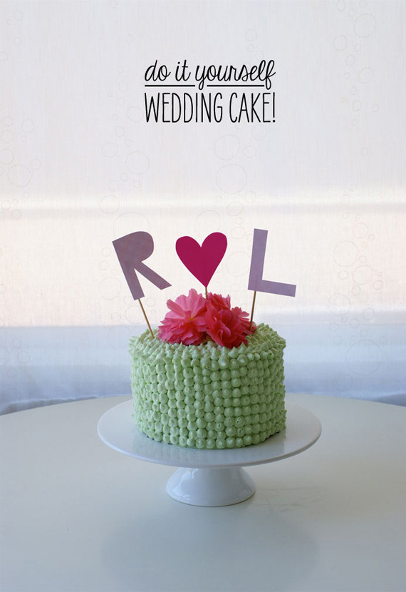 Do It Yourself Wedding Cupcakes  DIY Wedding cake