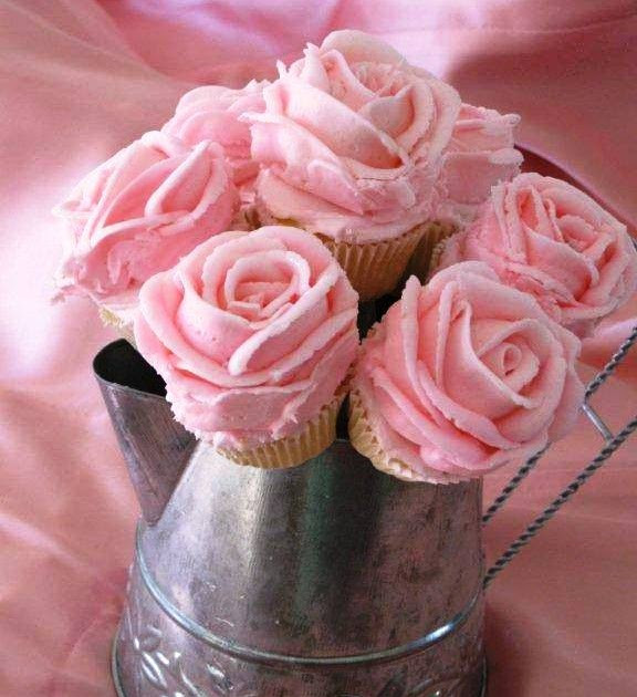 Do It Yourself Wedding Cupcakes  Do It Yourself Weddings DIY Rose Frosted Mini Cupcake