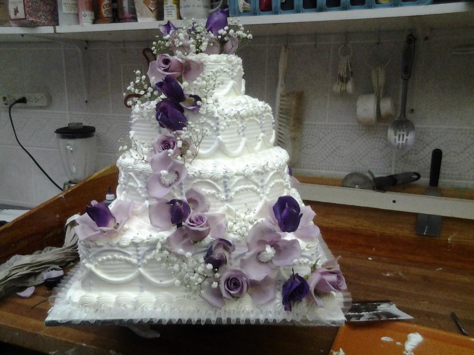 Dominican Wedding Cakes  Dominican wedding cake 1