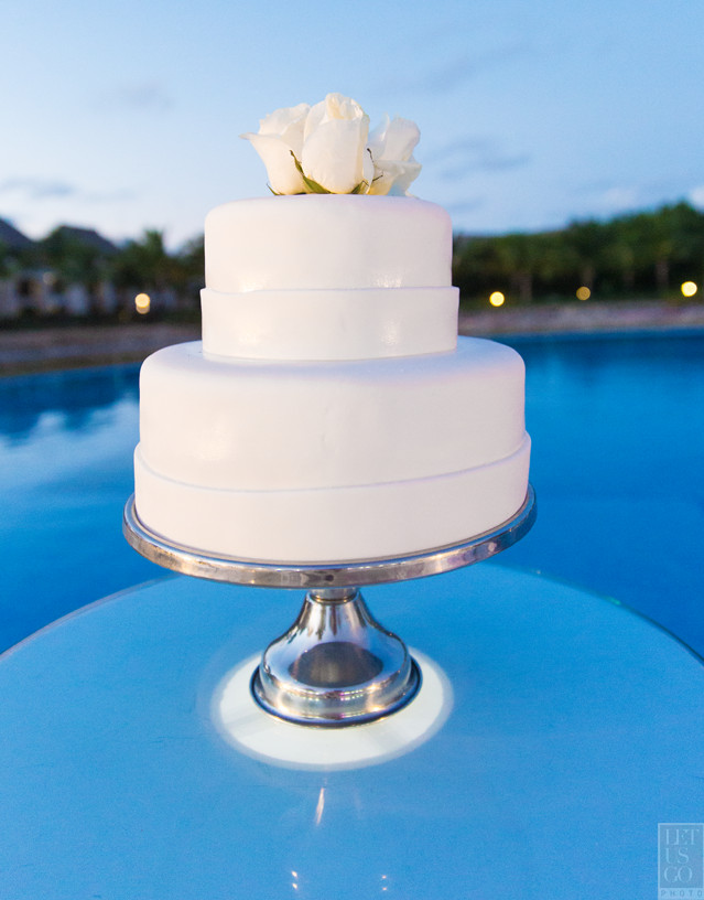 Dominican Wedding Cakes  Jodi Robbie Destination Wedding — Dominican Republic