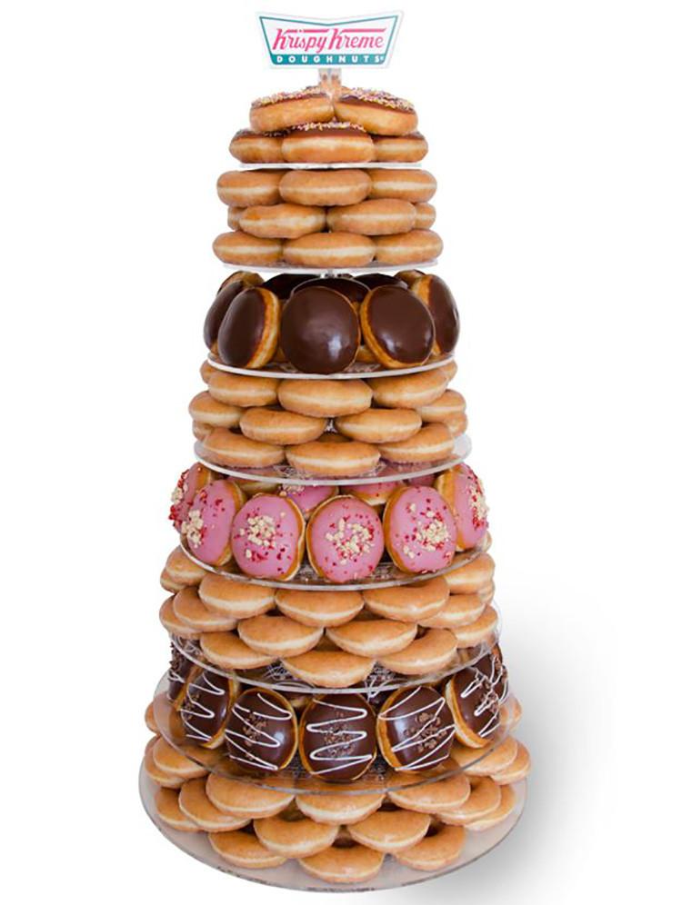Donut Wedding Cakes  7 Nontraditional Wedding Cake Ideas For the Creative