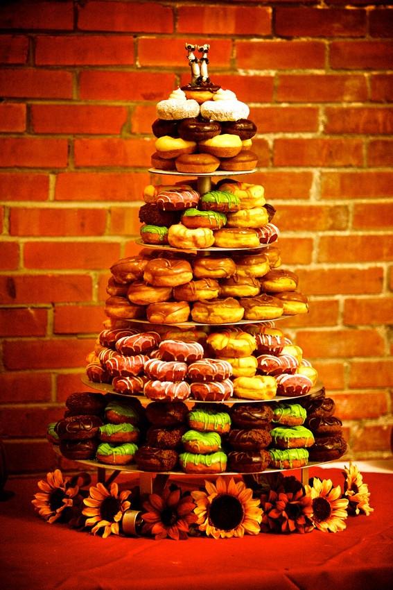 Donut Wedding Cakes  1000 images about Donut Wedding Cake on Pinterest