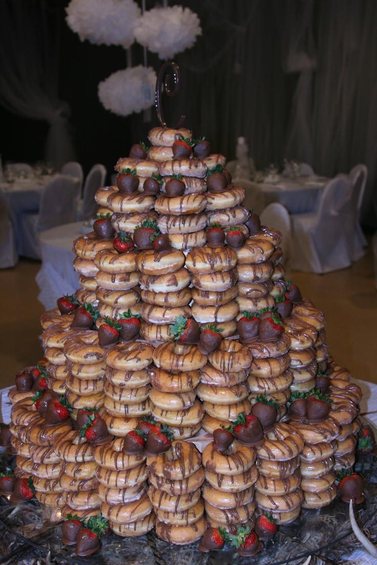 Donut Wedding Cakes  Donut Wedding Cake