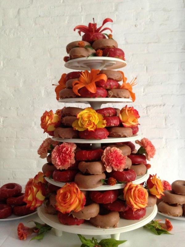 Donut Wedding Cakes  Alternatives to Traditional Wedding Cake