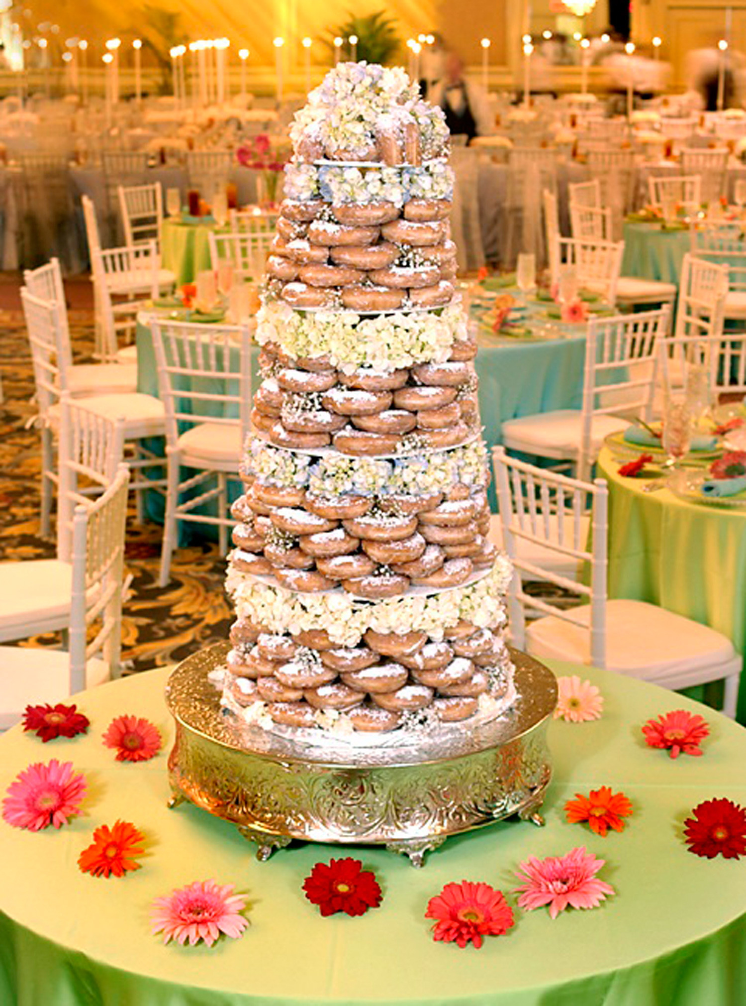 Donut Wedding Cakes  National Donut Day Great Innovations Since 1958