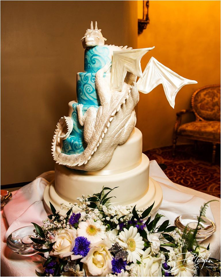 Dragon Wedding Cakes  A trio of desserts 3 fab wedding cake makers to check out