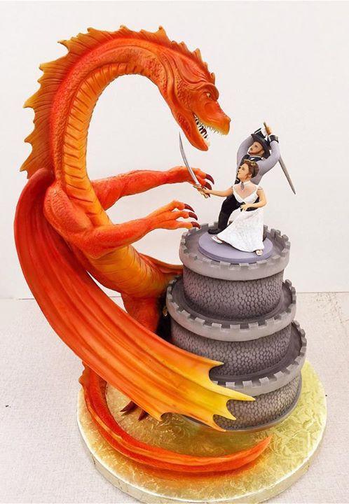 Dragon Wedding Cakes  20 Super Exceptional and Elegant Cakes