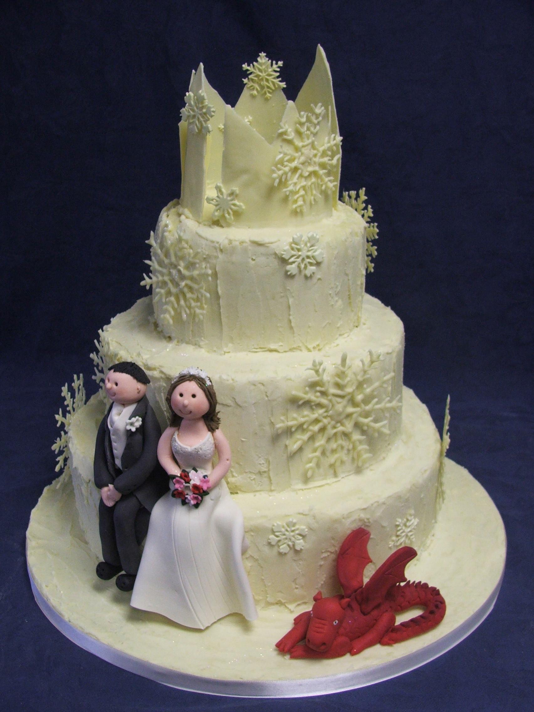 Dragon Wedding Cakes  Dragon Wedding Cake toppers