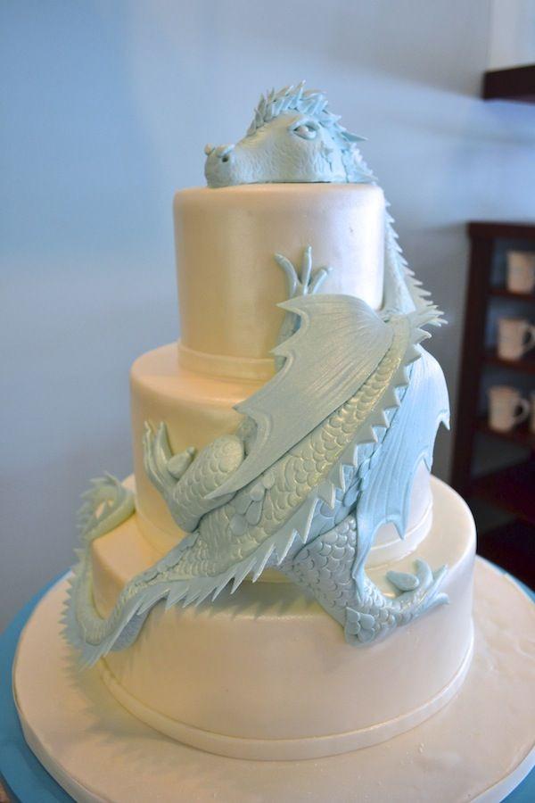 Dragon Wedding Cakes  Best 20 Dragon wedding cake ideas on Pinterest