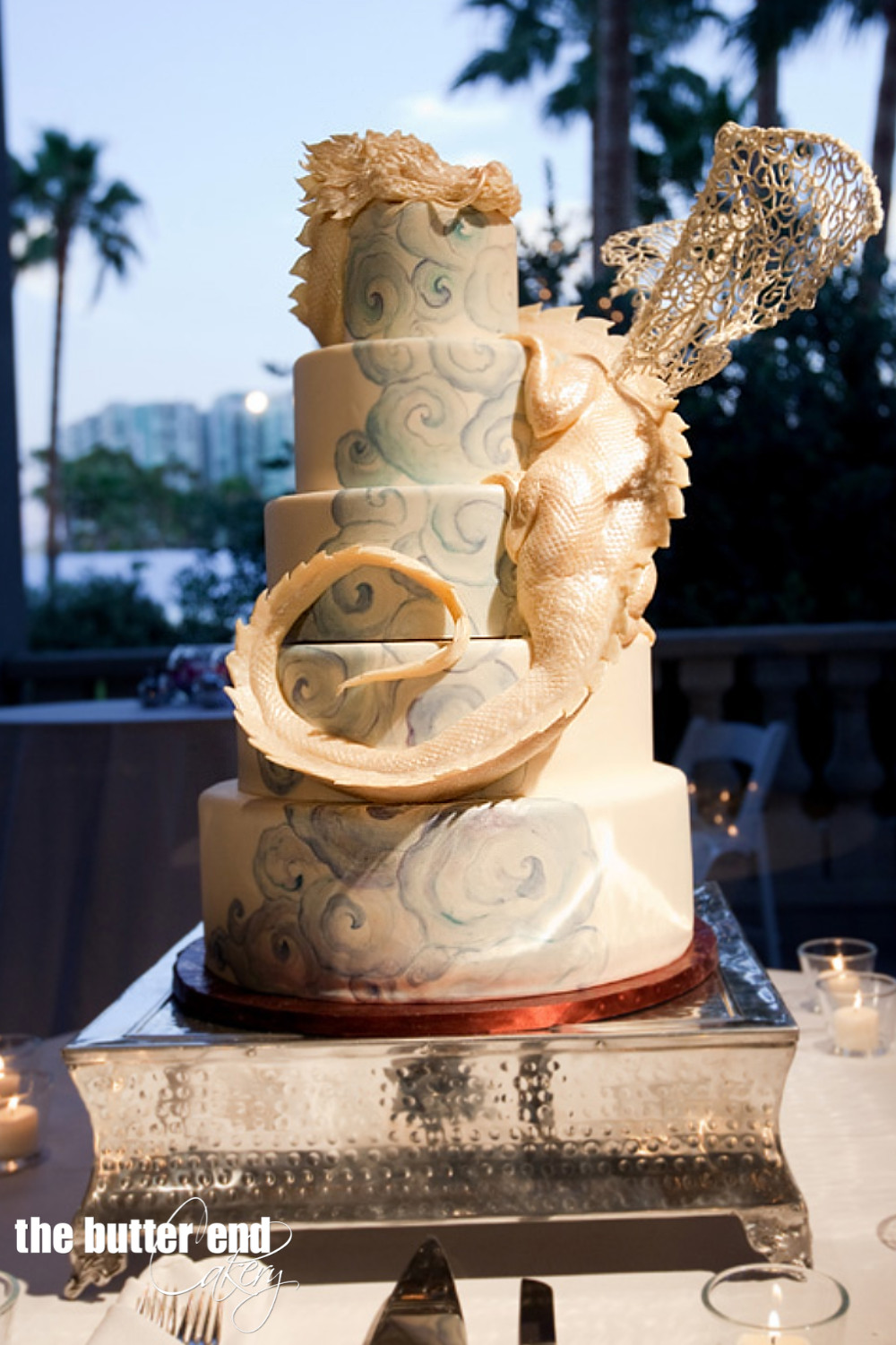 Dragon Wedding Cakes  Wedding Cakes The Butter End Cakery