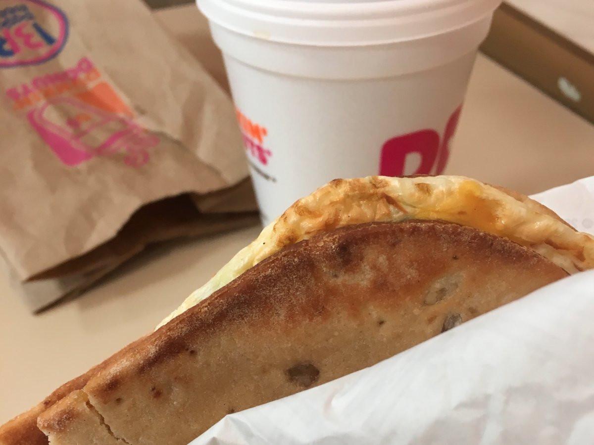Dunkin Donuts Healthy Breakfast  Healthy fast food t week review Business Insider