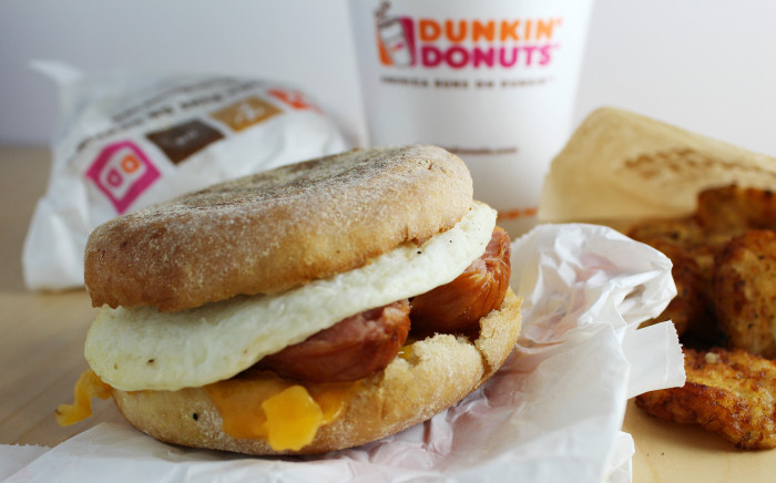 Dunkin Donuts Healthy Breakfast  Dunkin Donuts Breakfast Any Time The Shirley Journey