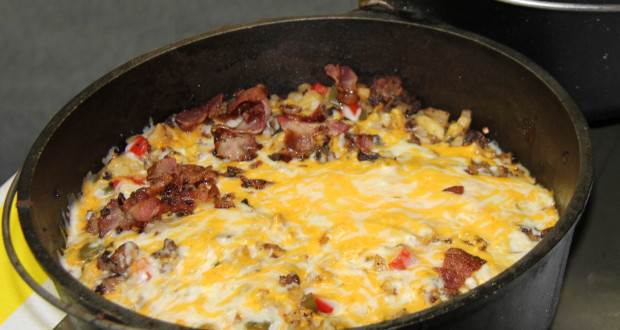 Dutch Oven Camping Recipes Breakfast  Mountain Man Dutch Oven Breakfast 50 Campfires