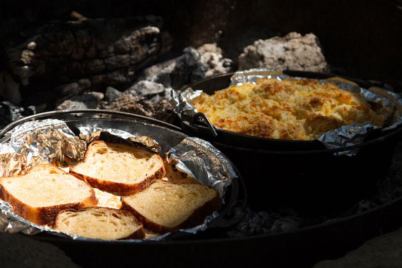 Dutch Oven Camping Recipes Breakfast  Dutch Oven Breakfast Casserole Dirty Gourmet
