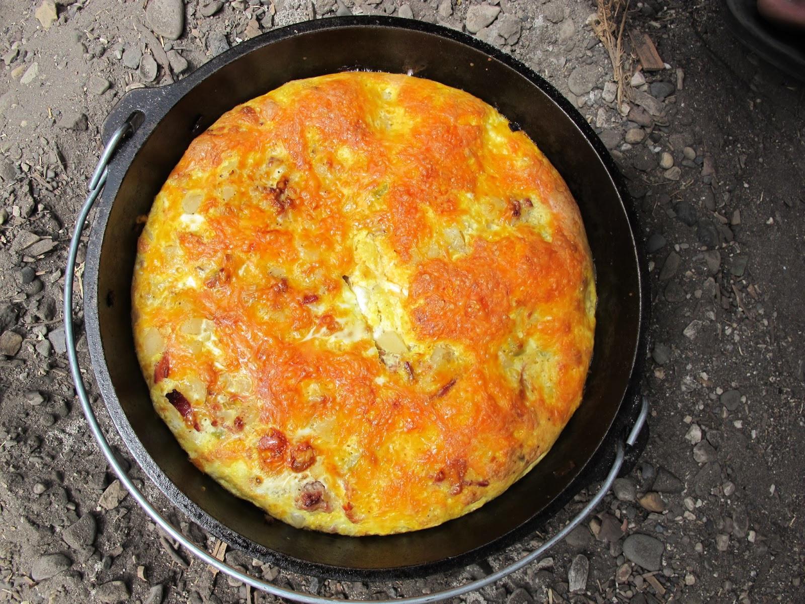 Dutch Oven Camping Recipes Breakfast  BYU Dutch Oven and Camp Cooking Dutch Oven Breakfast
