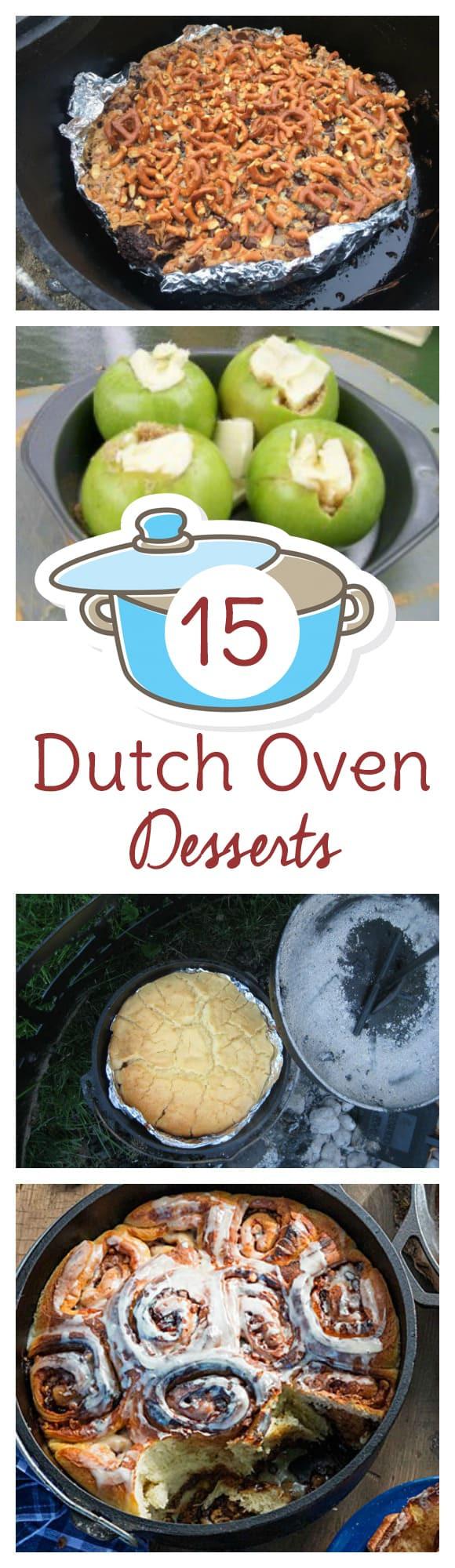 Dutch Oven Desserts Camping  15 Dutch Oven Dessert Recipes