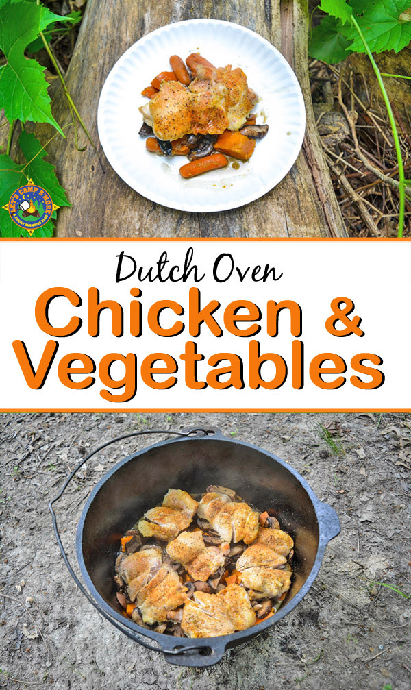 Dutch Oven Dinners Camping  Dutch Oven Chicken Ve able Dinner Camping Recipe