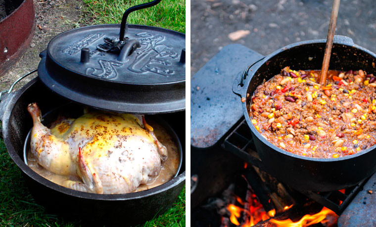 Dutch Oven Dinners Camping  How to Cook with a Dutch Ovens When Camping Cool of the Wild