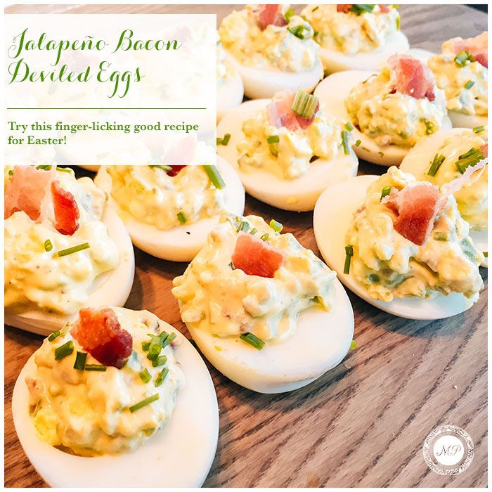 Easter Appetizers Martha Stewart  These Jalapeño Bacon Deviled Eggs are the perfect finger