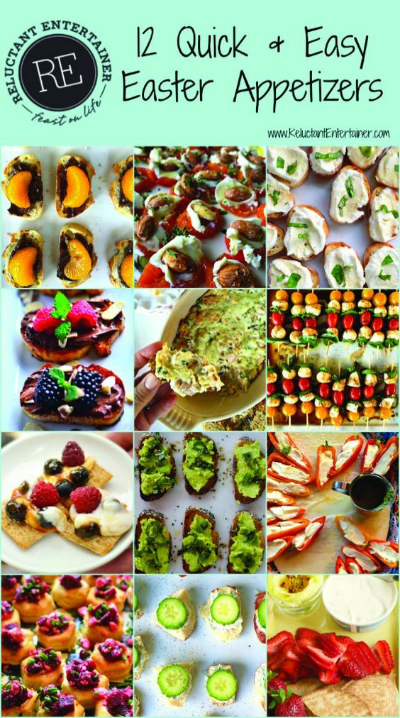 Easter Appetizers Pinterest  Easter appetizers Appetizers and Easter on Pinterest