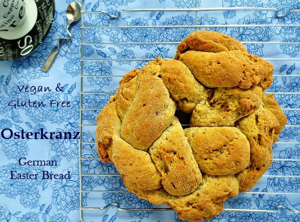 Easter Bread German  Poor and Gluten Free with Oral Allergy Syndrome Vegan