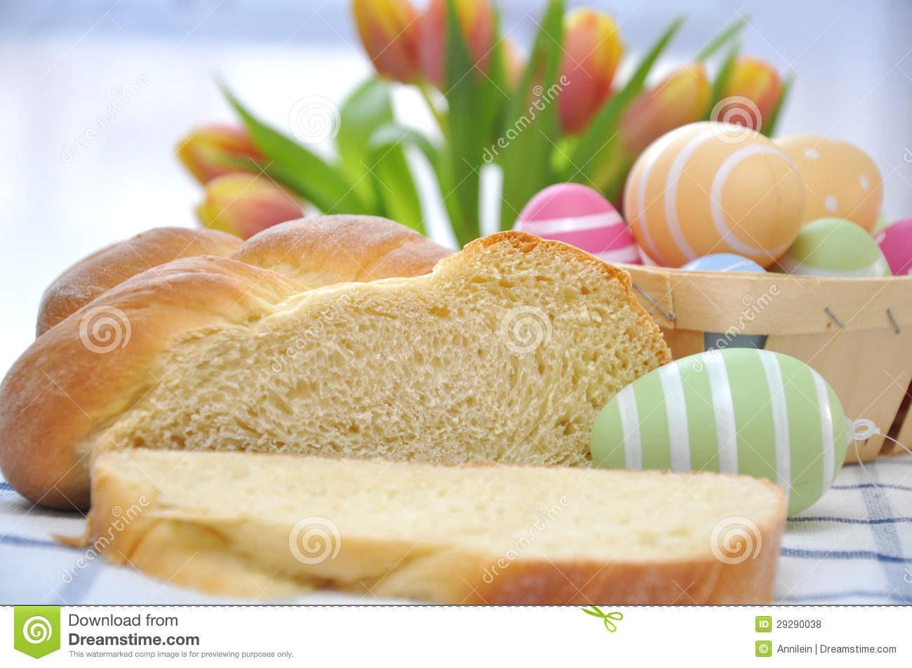 Easter Bread German  Sweet German Easter Bread Royalty Free Stock