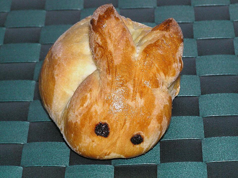 Easter Bread German  Sweet Easter Rabbit Bread • Best German Recipes