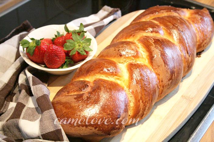 Easter Bread German  Vanilla Easter Braid Bread – Osterzopf