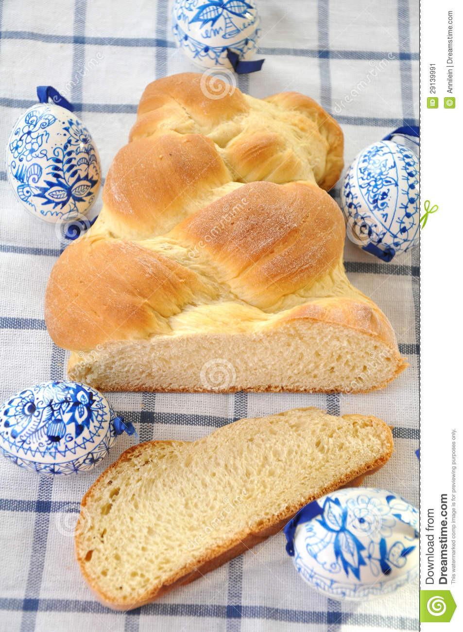Easter Bread German  Sweet German Easter Bread Stock Image Image