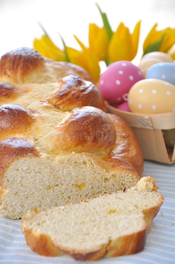 Easter Bread German  Sweet German Easter Bread stock photo Image of decoration