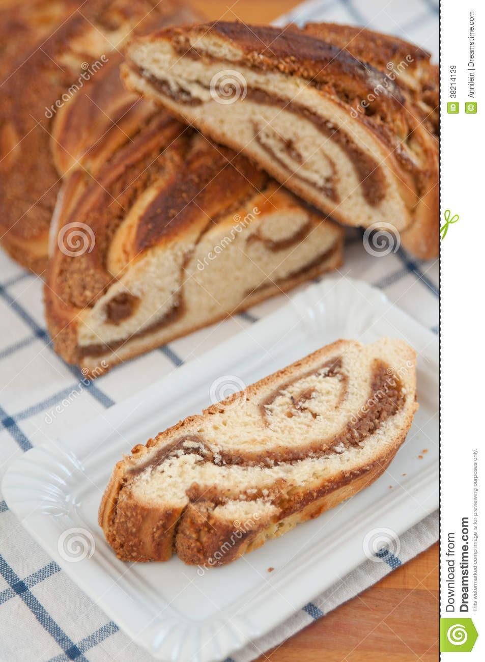 Easter Bread German  Sweet Braided German Easter Bread Stock Image Image