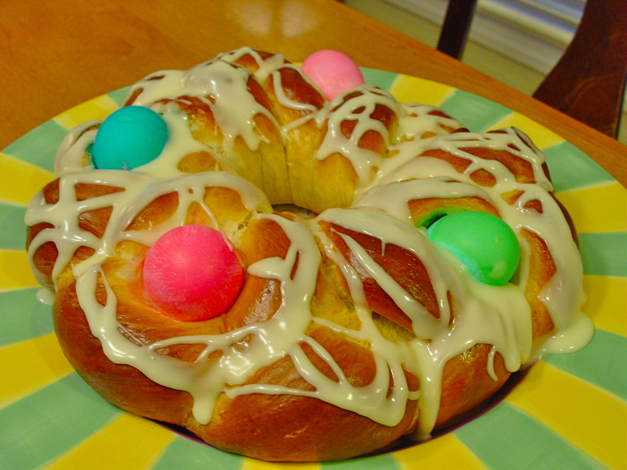 Easter Bread German  Bless Us O Lord Easter Bread