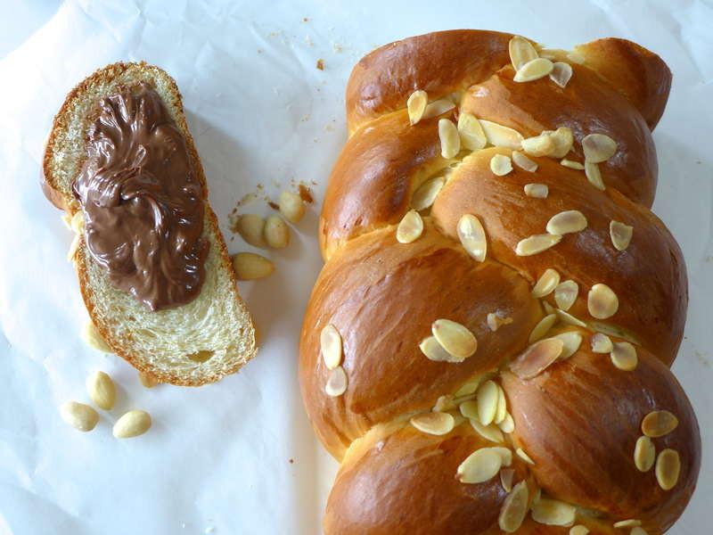 Easter Bread Greek  Tsoureki recipe Traditional Greek Easter bread My