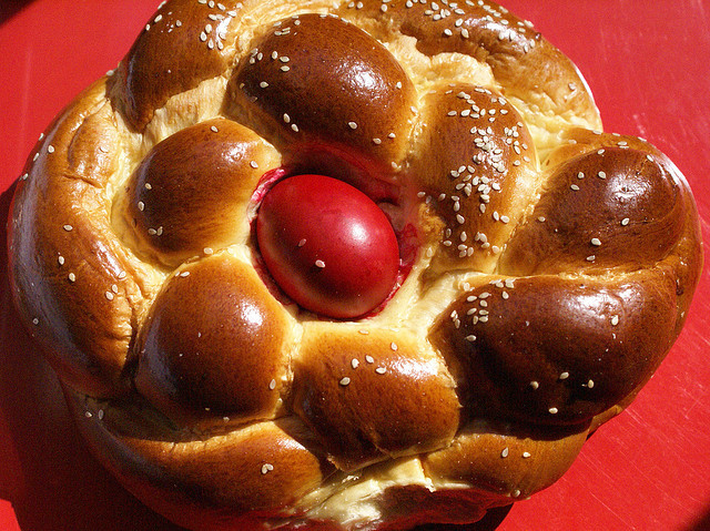 Easter Bread Greek  Easter Eggs Around The World Multicultural Kid Blogs