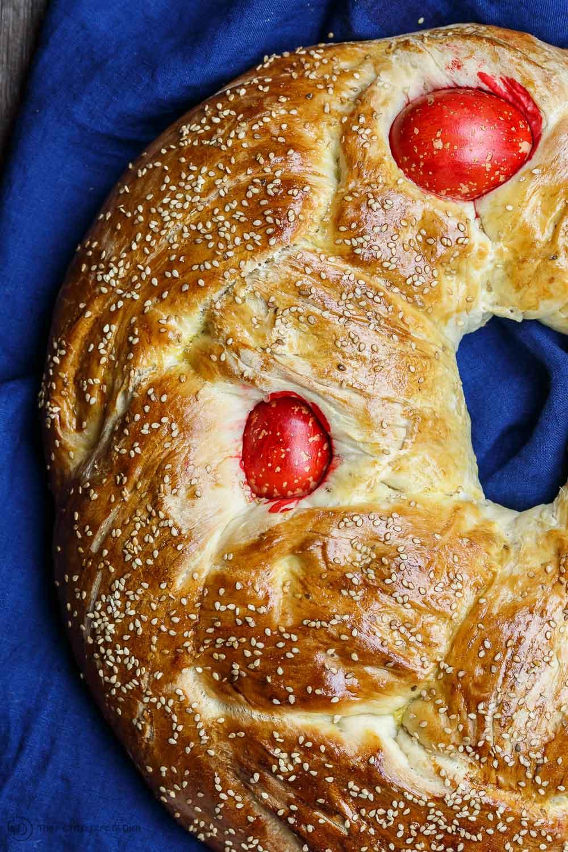 Easter Bread Greek  Easy Greek Easter Bread Recipe