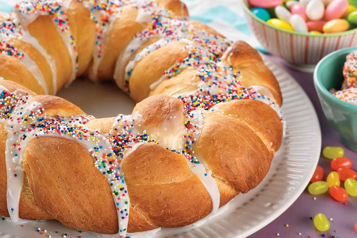 Easter Bread Recipes  sweet easter bread