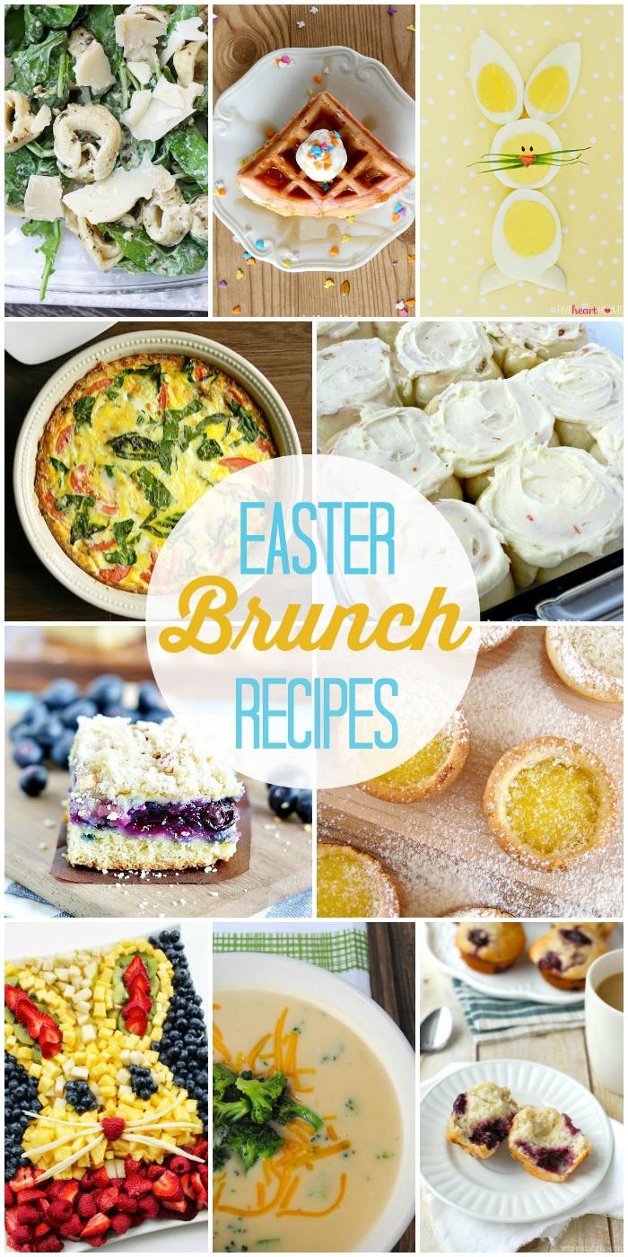 Easter Breakfast Recipes  Link Party Palooza